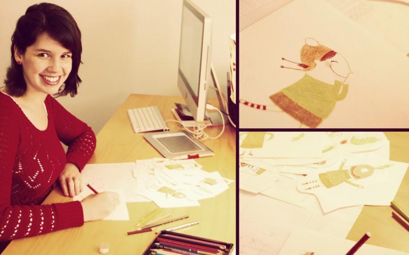 Como ilustrar livros infantis: entrevista com Bruna Assis Brasil