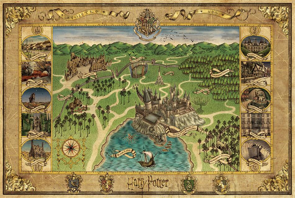 lugares fictícios - hogwarts