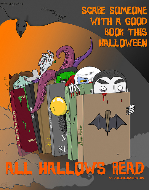 livros assustadores