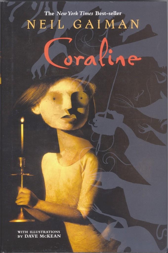 coraline, livros assustadores