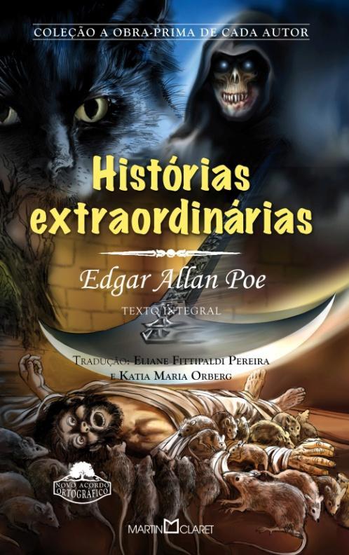 histórias extraordinárias, livros assustadores