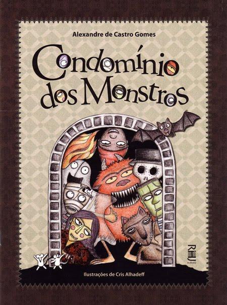 condomínio dos monstros, livros assustadores