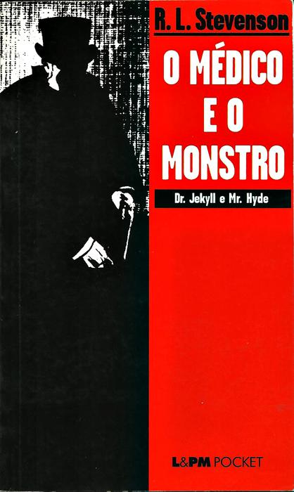o médico e o monstro, livros assustadores