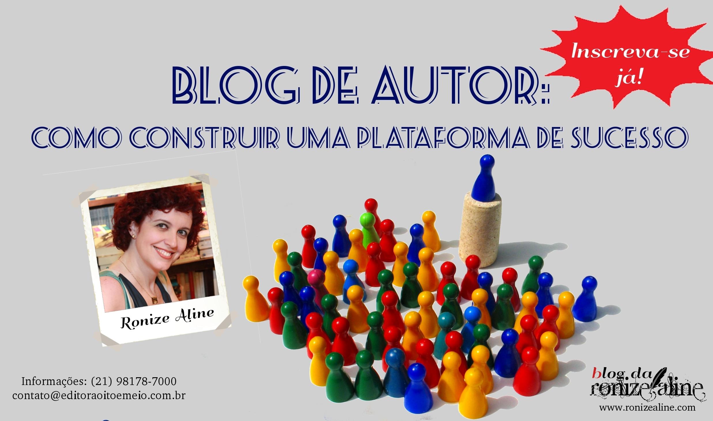 Blog de Autor: construa uma imagem de sucesso