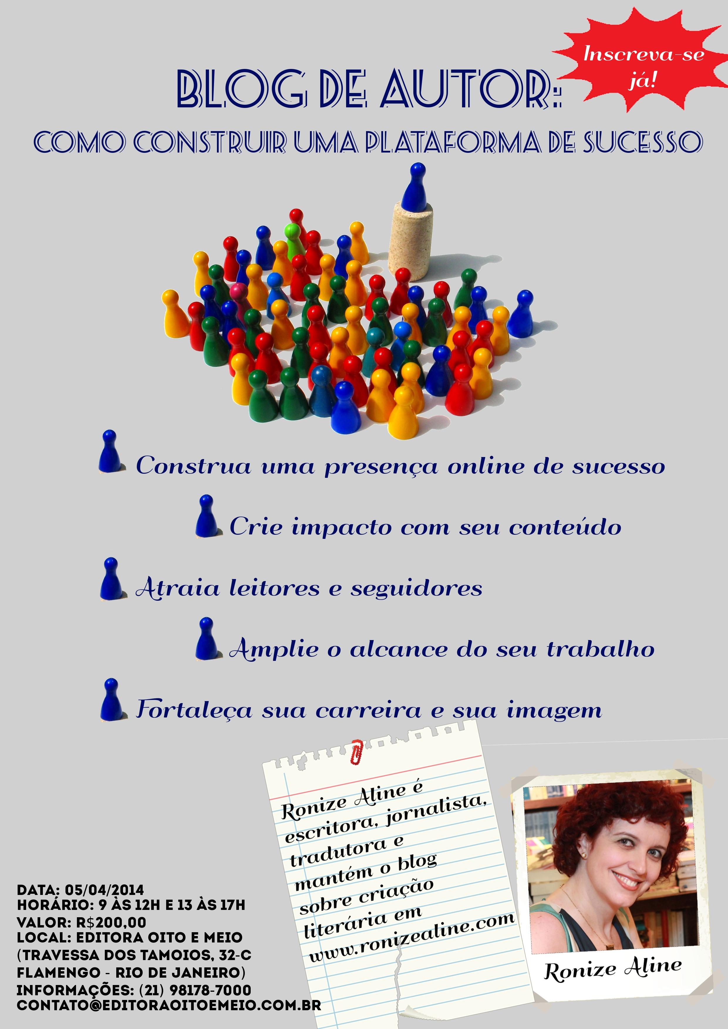 Blog de Autor: como construir uma plataforma de sucesso