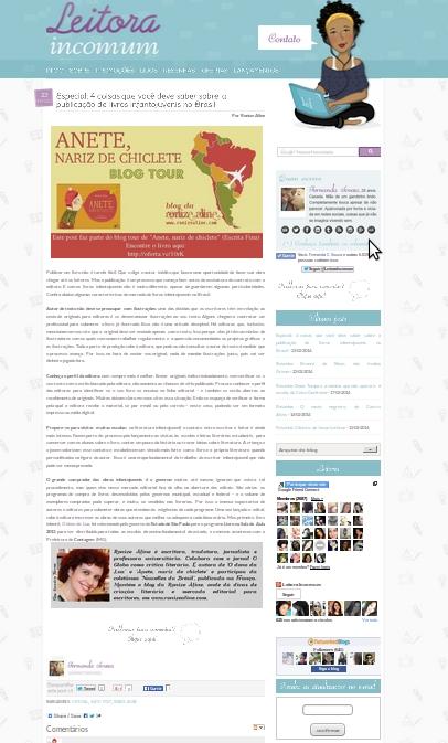 leitora incomum, blog tour