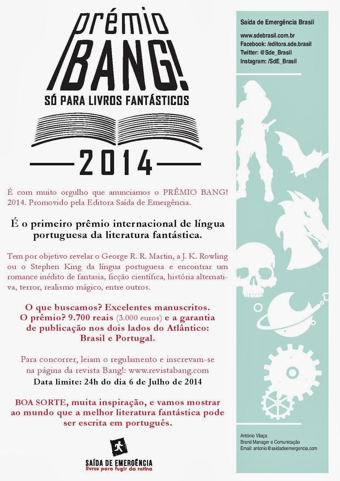 prêmio Bang! 2014