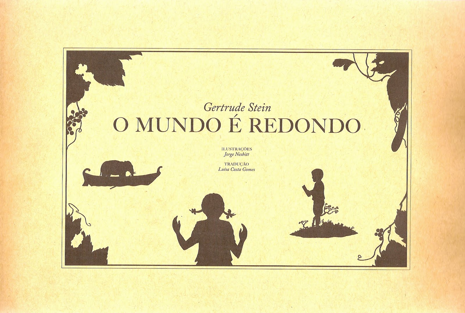 O mundo é redondo, de Gertrude Stein - livros infantis obscuros