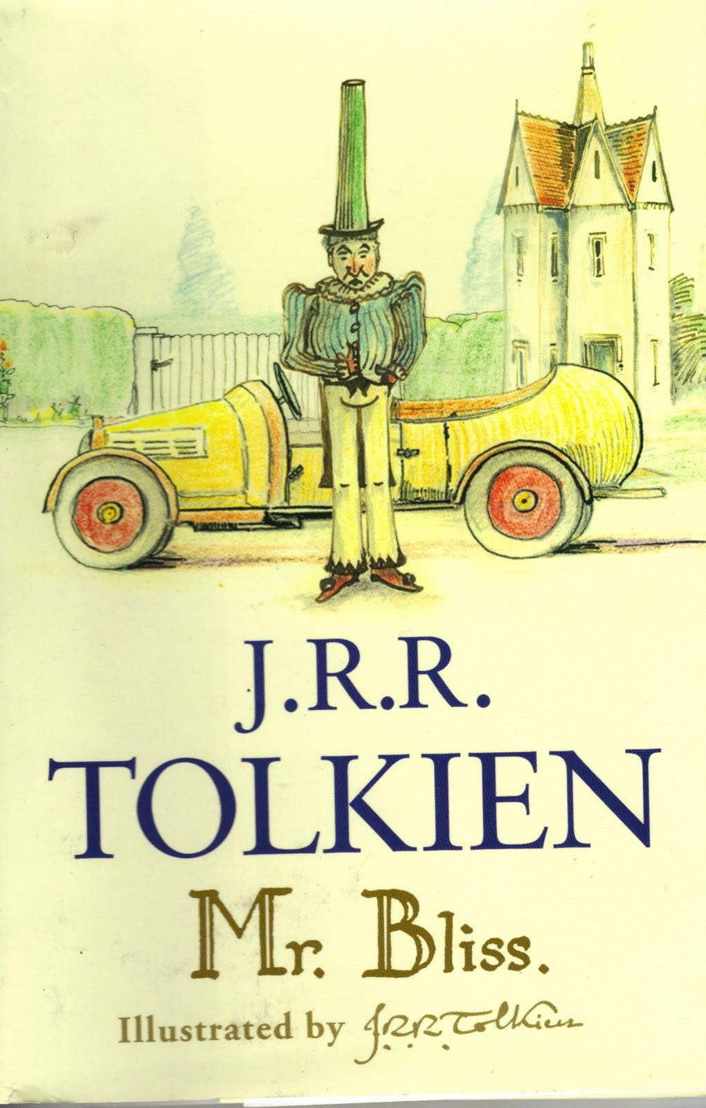 mr. bliss, de Tolkien - livros infantis obscuros