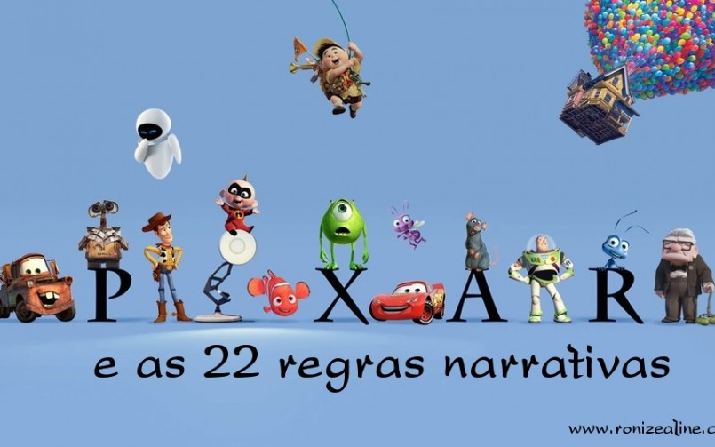 Pixar e as 22 regras narrativas