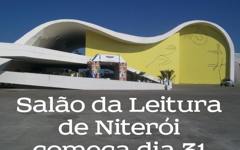 Salão da Leitura de Niterói começa dia 31
