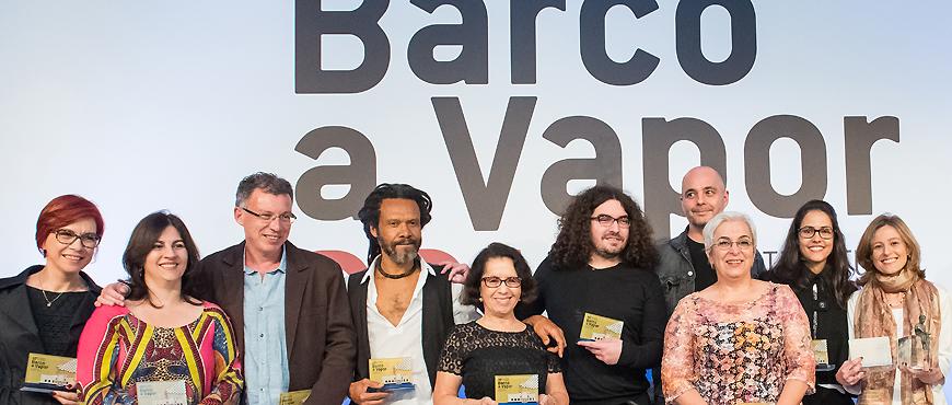 vencedores do Prêmio Barco a Vapor
