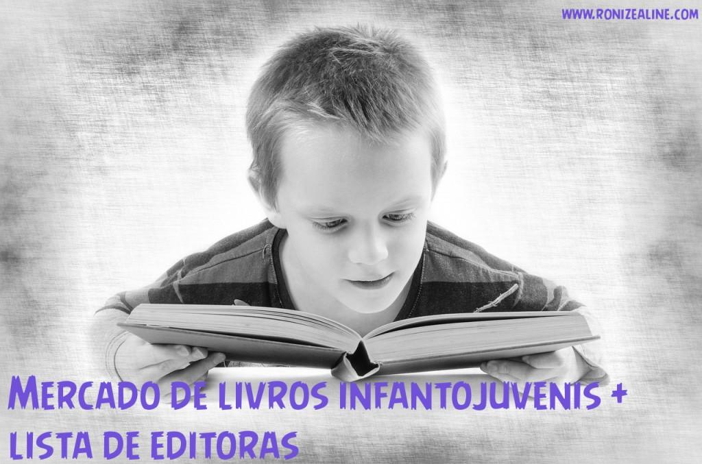 mercado infantojuvenil + editoras