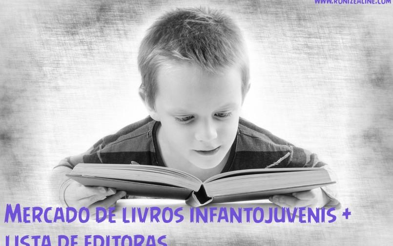 Mercado de livros infantojuvenis + lista de editoras