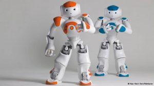 robôs NAO na Elsevier