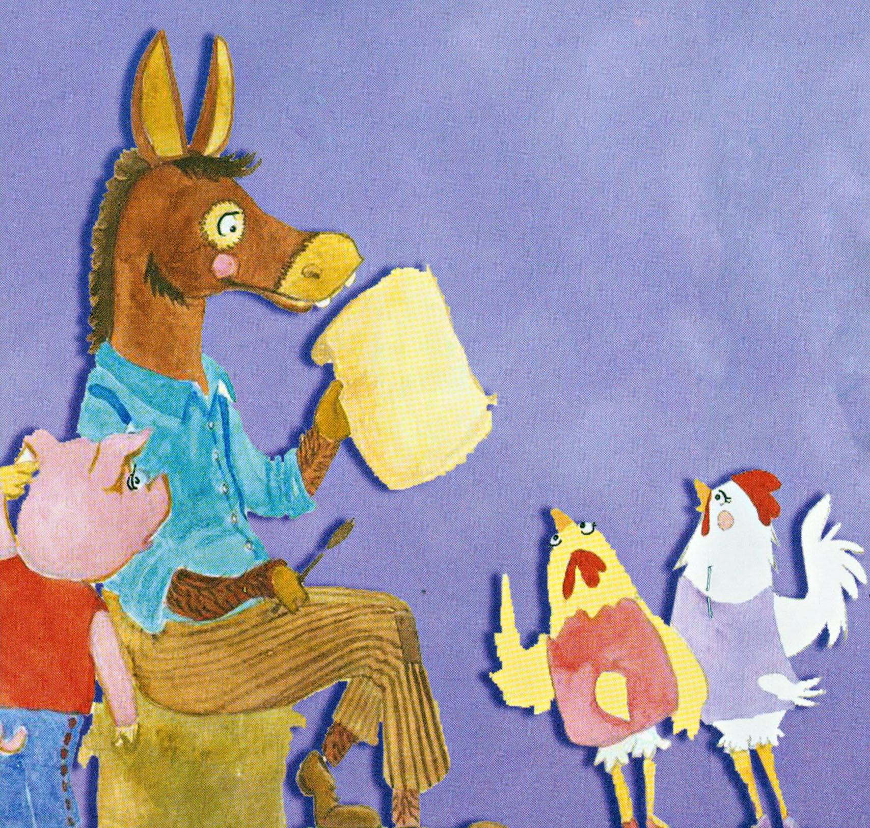 ilustração de o doce plano das galinhas