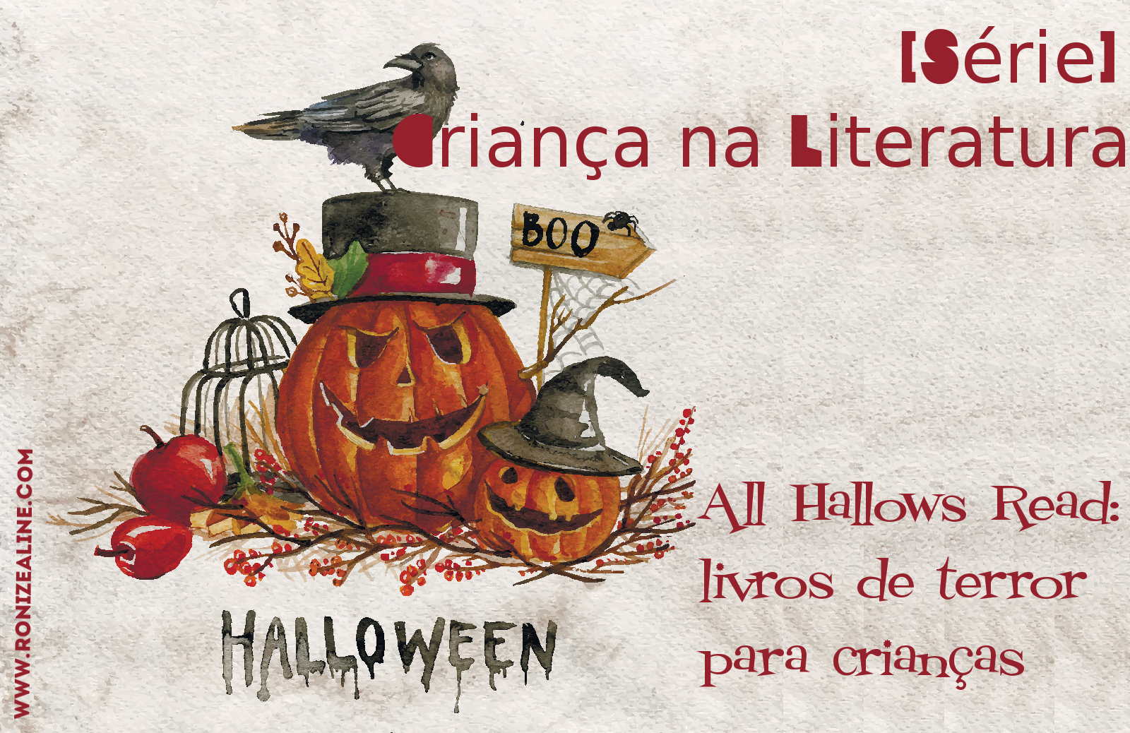 All Hallows Read: livros de terror para crianças