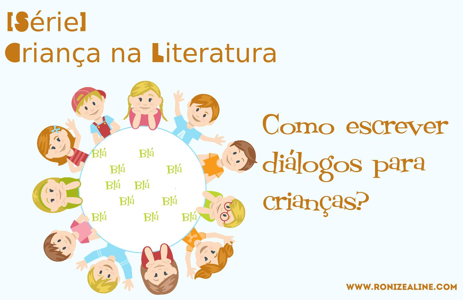 Como escrever diálogos para crianças