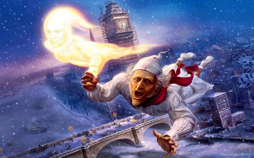 Os fantasmas de scrooge - um conto de natal