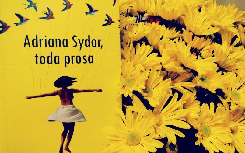 Adryana Sydor e sua literatura toda prosa