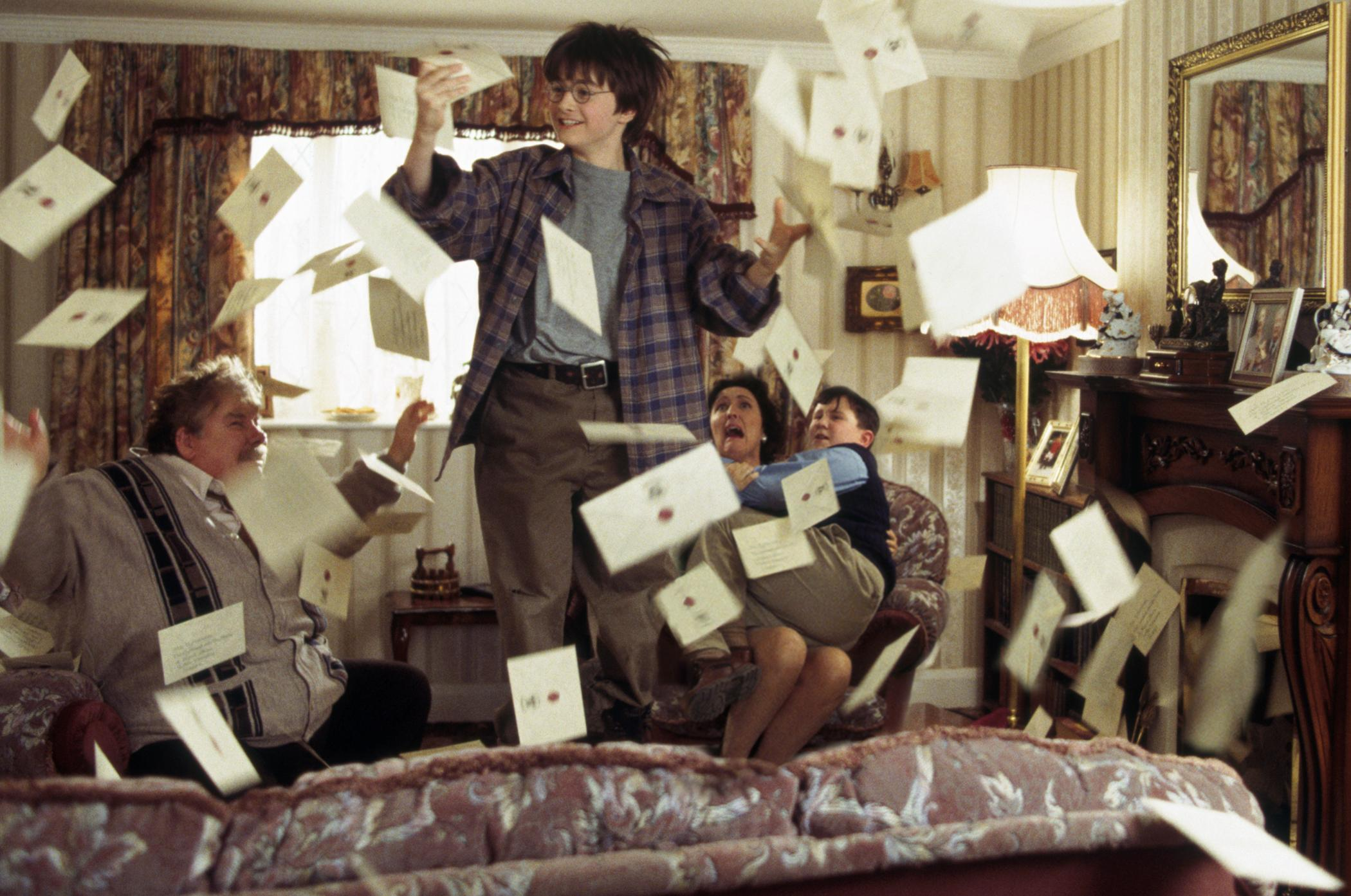 Harry Potter - carta para Hogwarts