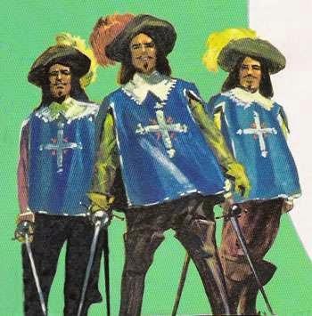 regra de três - os três mosqueteiros
