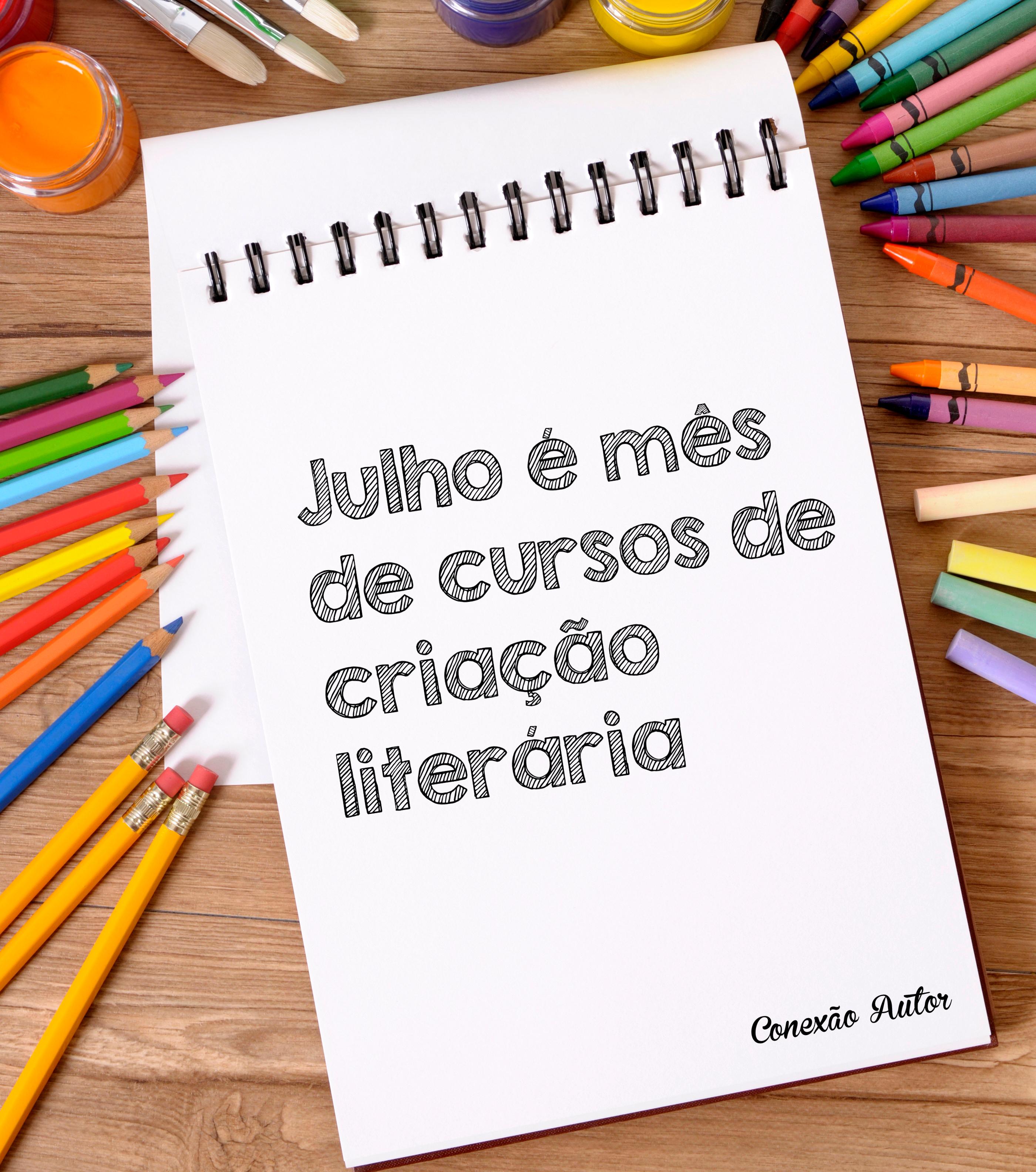 Julho é mês de cursos de criação literária