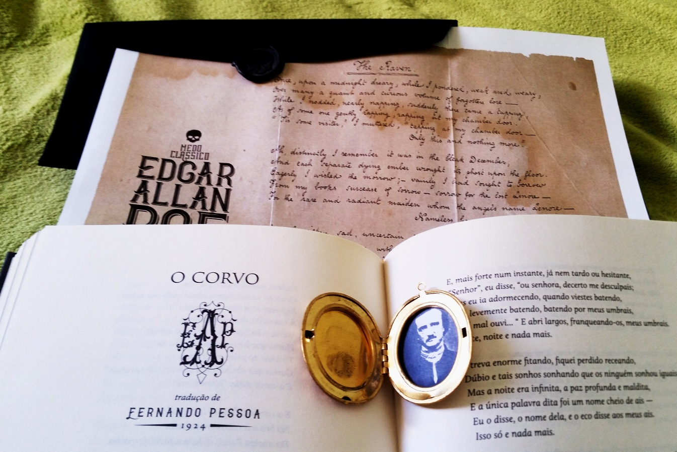 Edgar Allan Poe o corvo