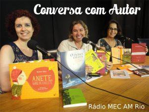conversa com autor com Ronize Aline