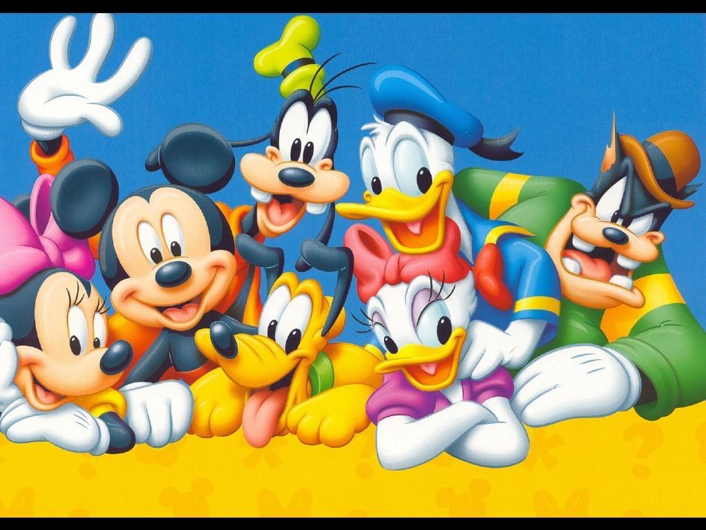 mickey mouse e amigos