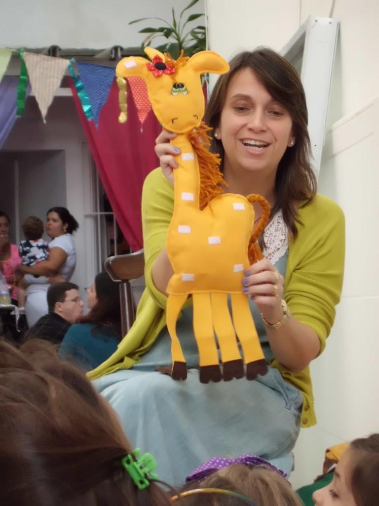 Deborah Barros na Primavera dos Livros