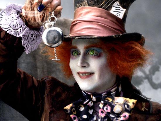 Chapeleiro Maluco, personagens básicos de Alice