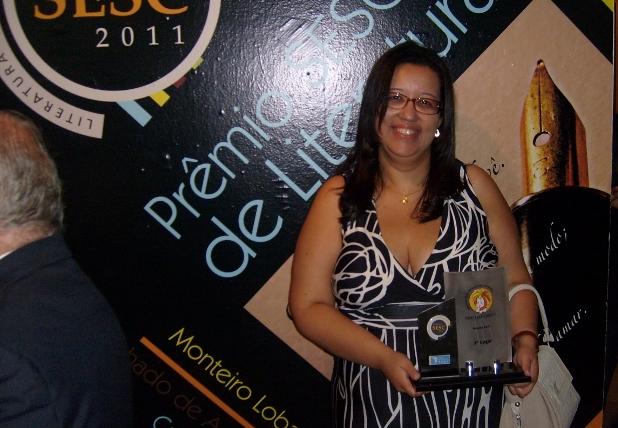 Ana Cristina Melo, prêmio SESC Monteiro Lobato2011