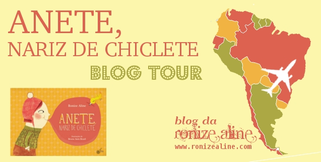 blog tour anete, nariz de chiclete