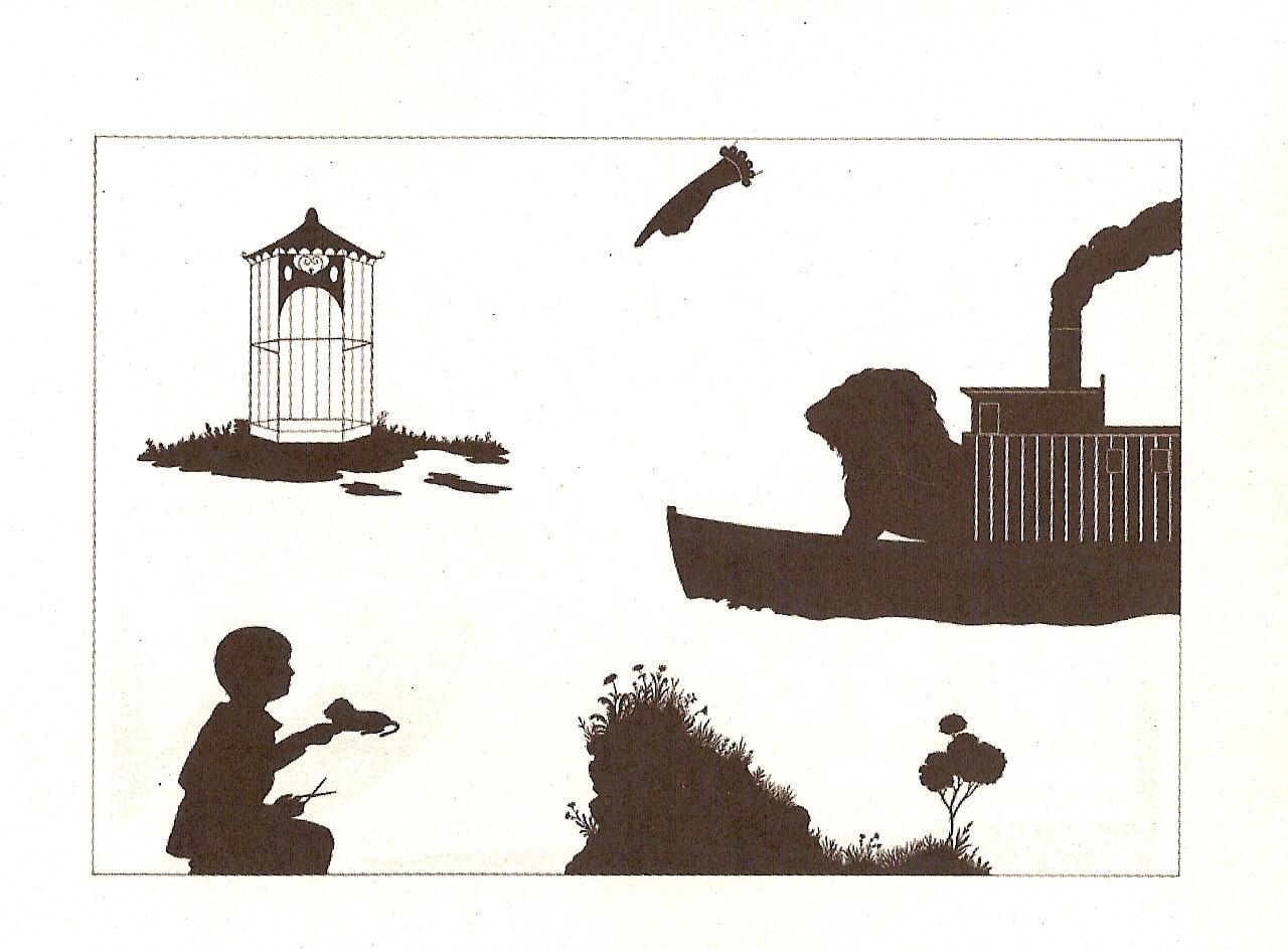 página de o mundo é redondo, de Gertrude Stein - livros infantis obscuros