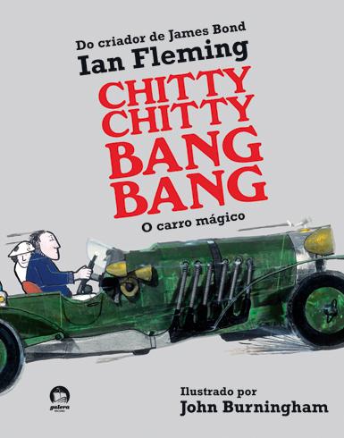 chitty chitty bang bang, de Ian Fleming - livros infantis obscuros