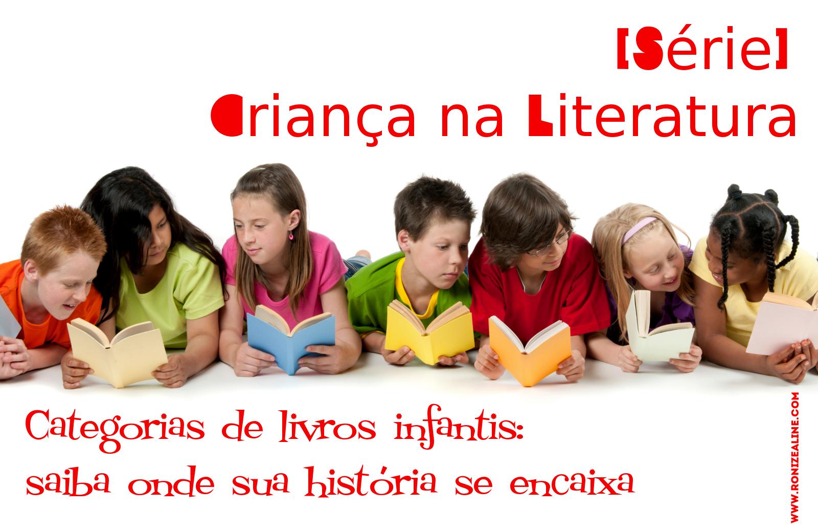 categorias de livros infantis