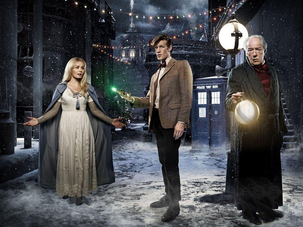 um conto de natal de doctor who