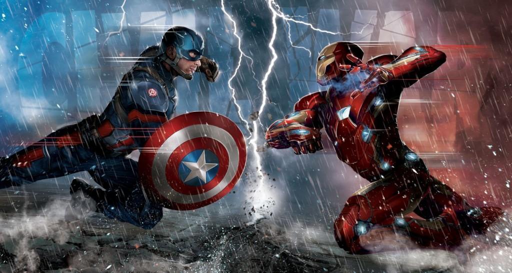 super-heróis: guerra civil