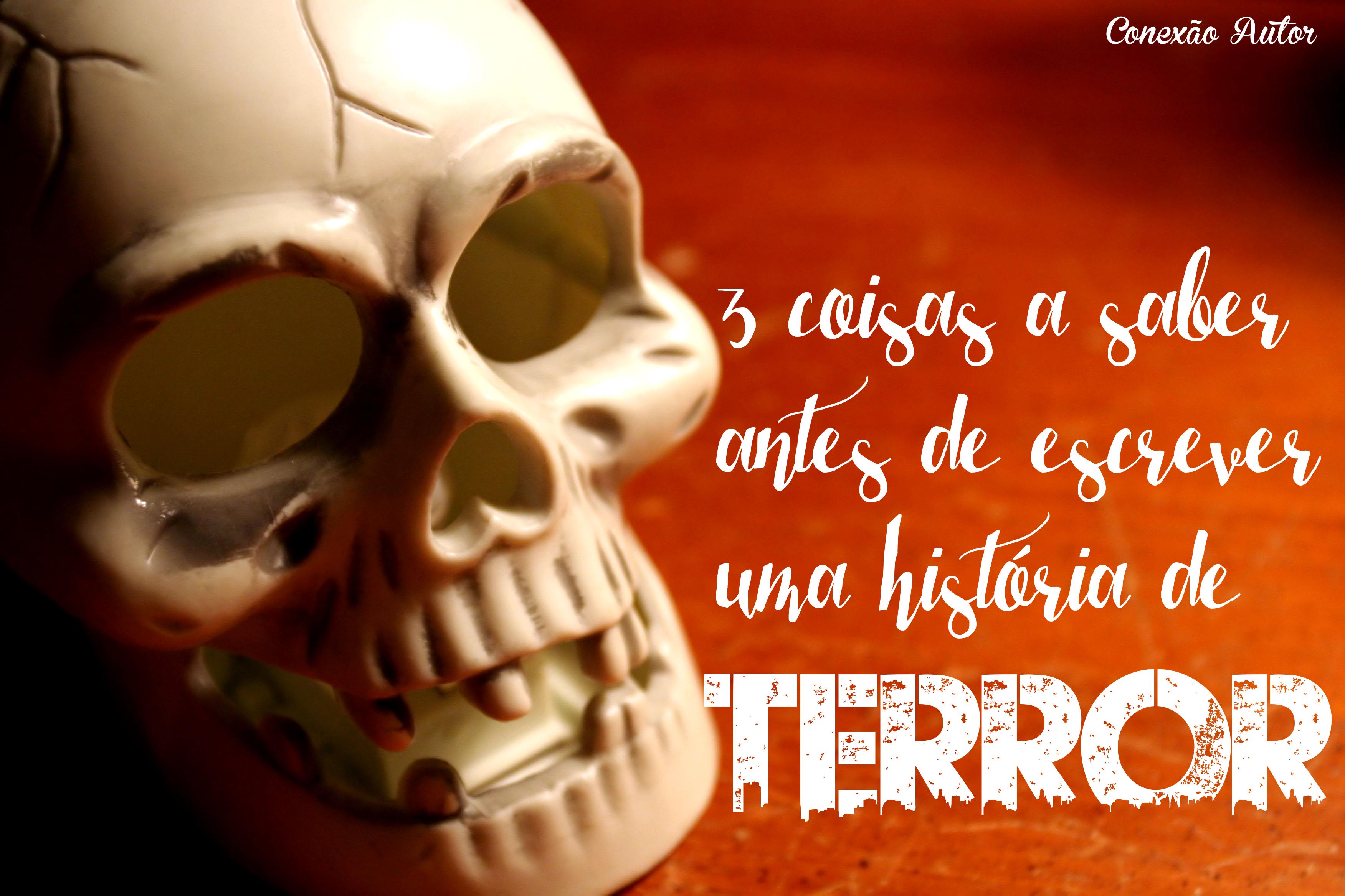 escrever história terror