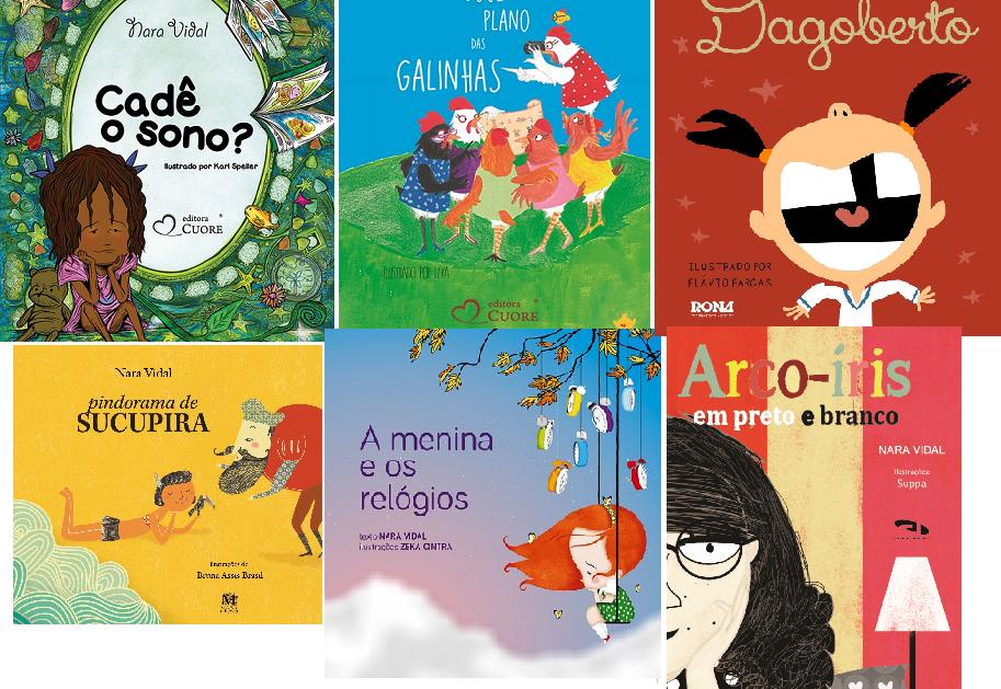 Livros infantojuvenis de Nara Vidal