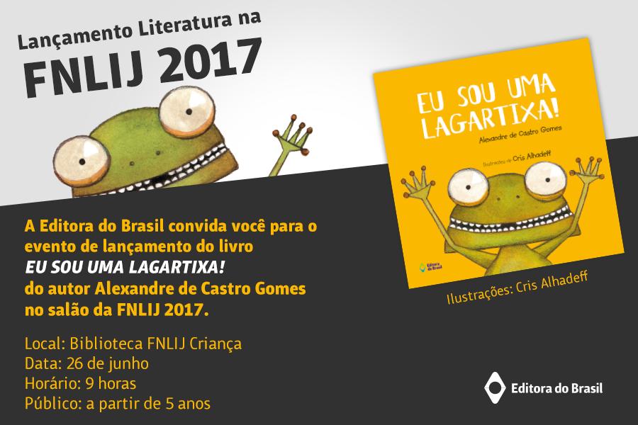 Salão FNLIJ 2017 Alex Gomes e Cris Alhadeff
