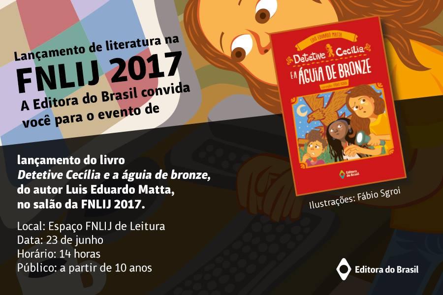 Salão FNLIJ 2017 Luis Eduardo Matta
